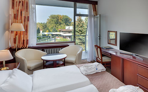 Klimatizovaná Komfort izba (krídlo Splendid)