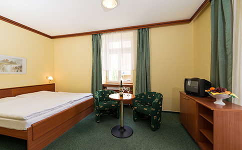 Komfort Jednoposteľová izba